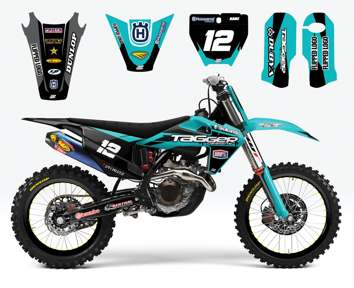 Husqvarna MC3 – Black & Teal