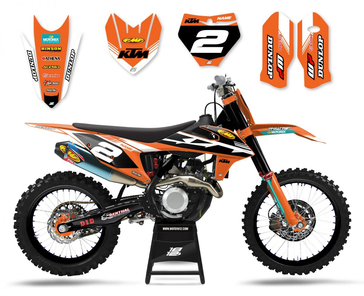 KTM ELECTRIC (ORANGE BLACK WHITE)