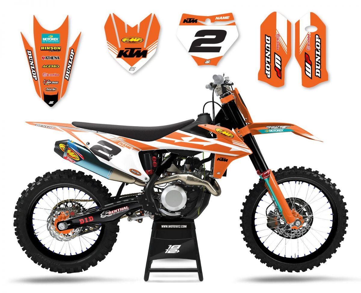 KTM ELECTRIC (ORANGE WHITE)