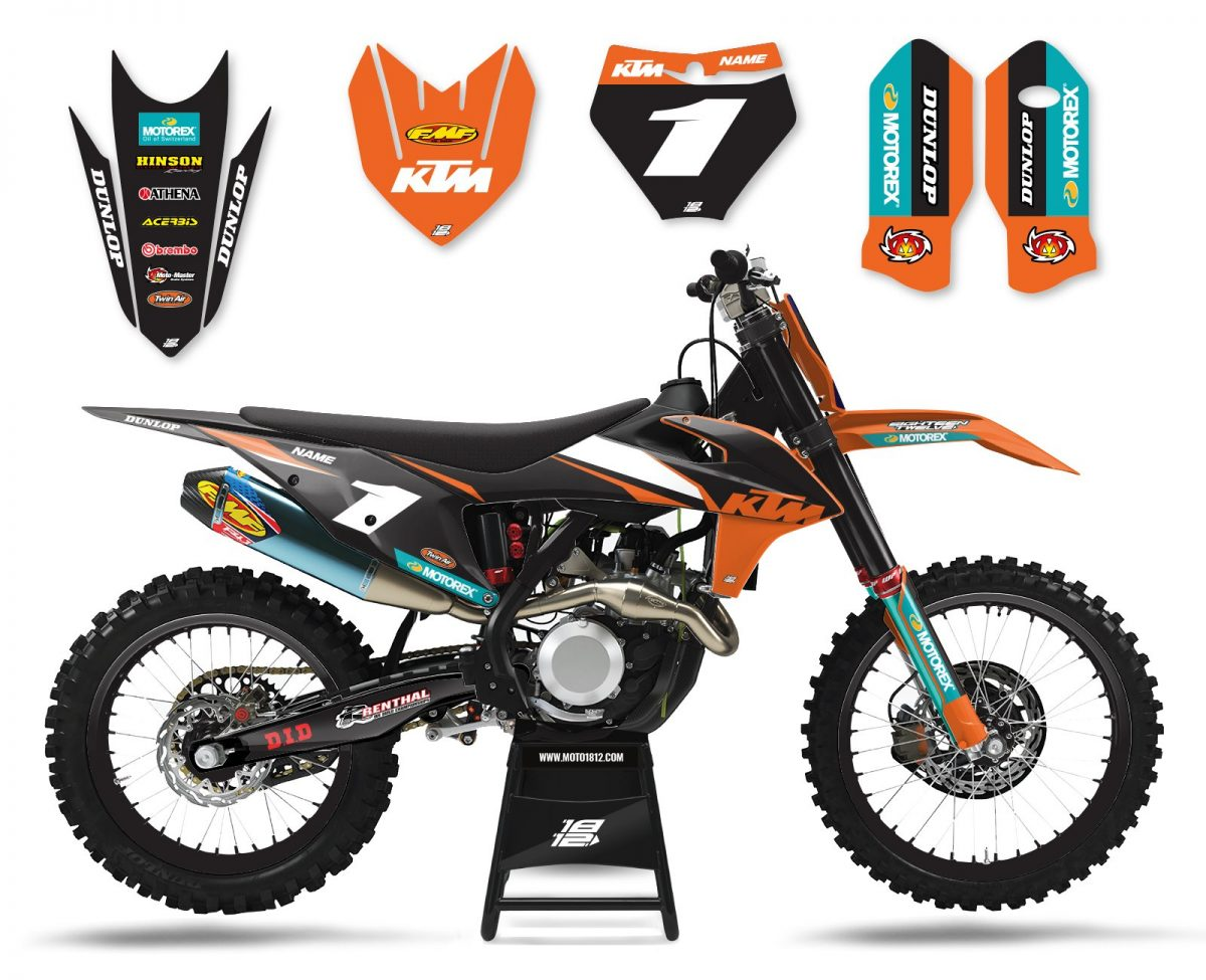 KTM FACTORY (BLACK ORANGE)